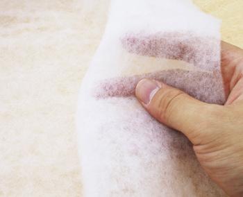 【お取り寄せ商品】 [お徳用] トラプント専用 キルト綿 キルト 綿 ( 125cm幅x20m巻 ) | つくる楽しみ