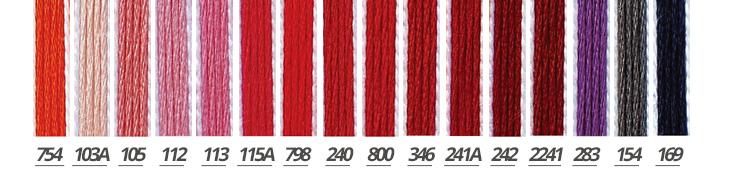 糸 刺しゅう糸 コスモ 5番 25m A ルシアン