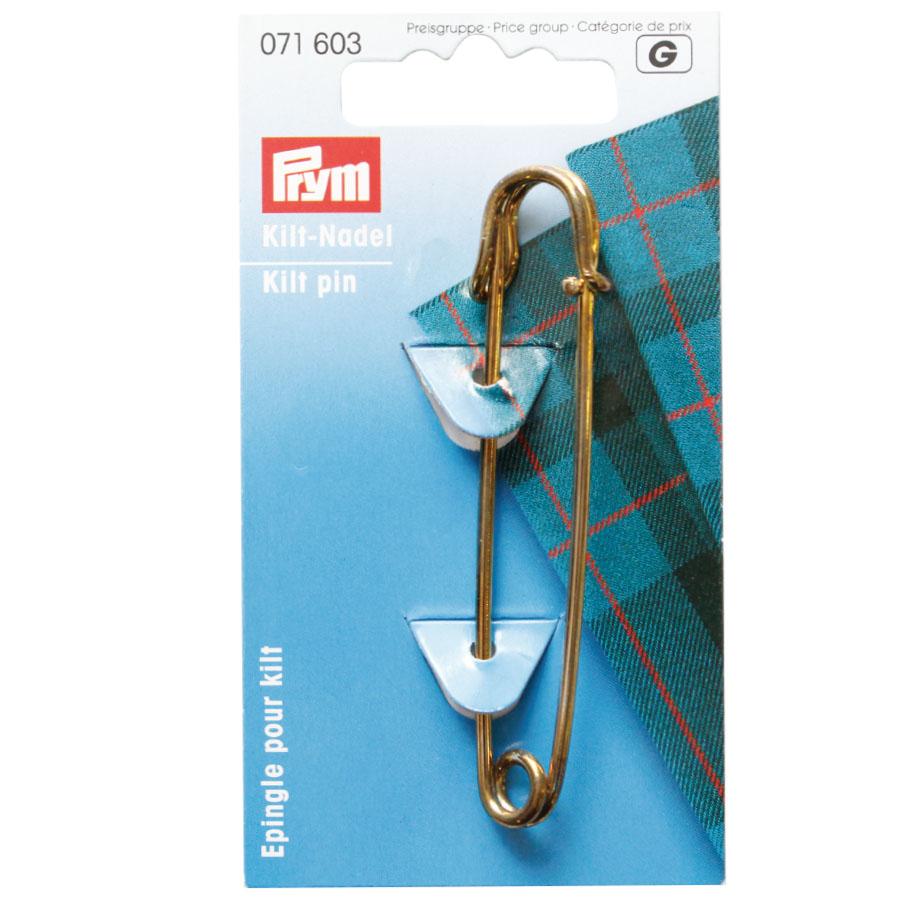 SALE対象 9.4-12 PRM9540 即納最大半額 キルトピン 人気 おすすめ ゴールド Prym 80mm プリム 2109sale