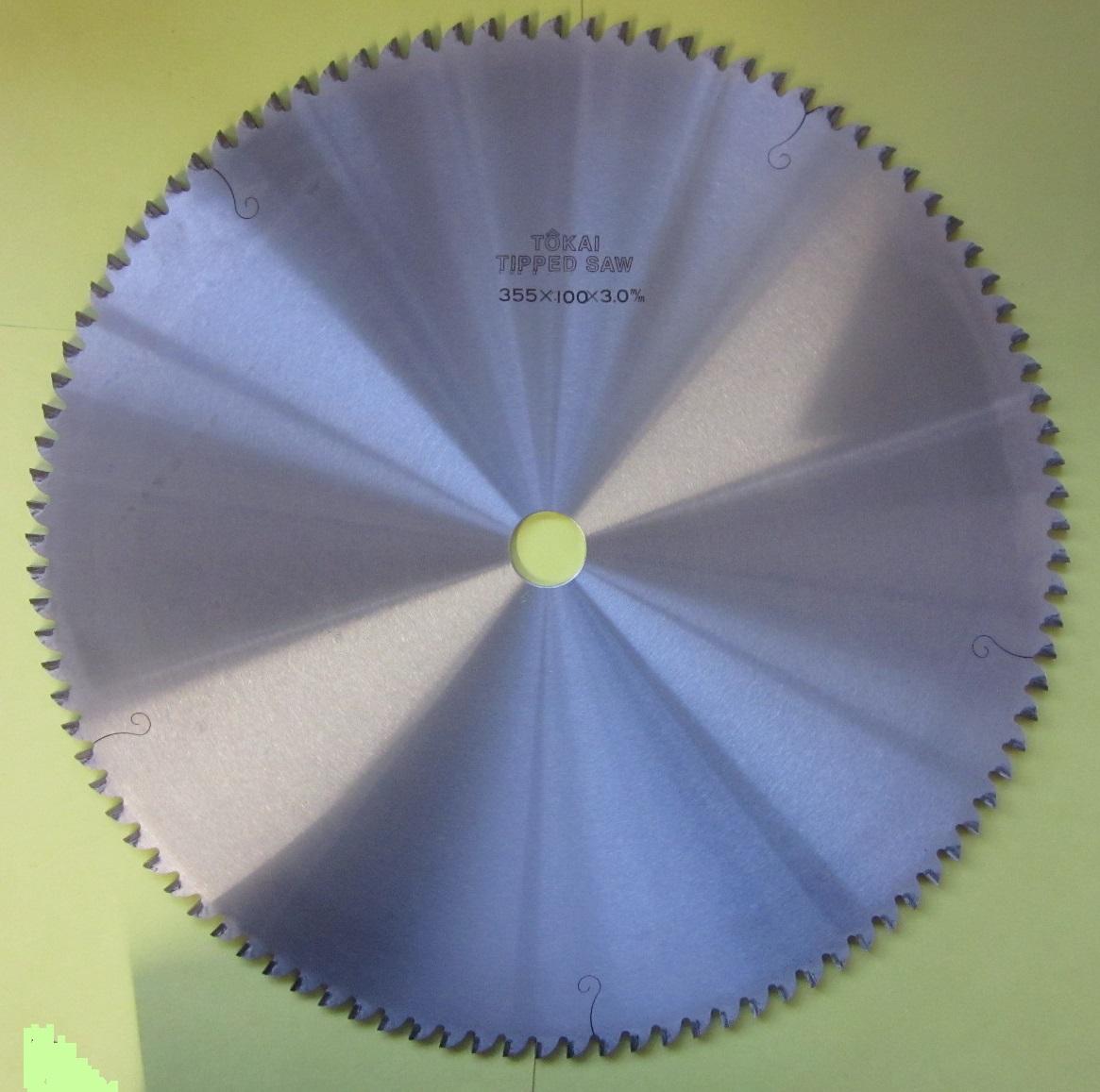 遠州丸鋸 アルミ用355x100Px3.0mmx25.4mm