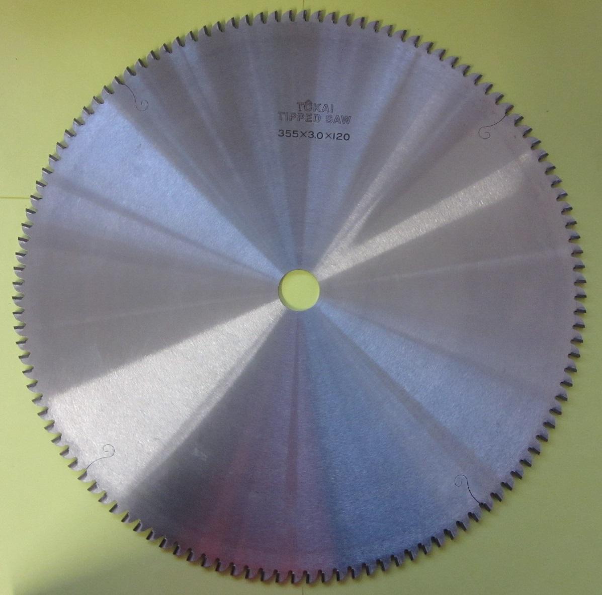 遠州丸鋸 アルミ用355x120Px3.0mmx25.4mm