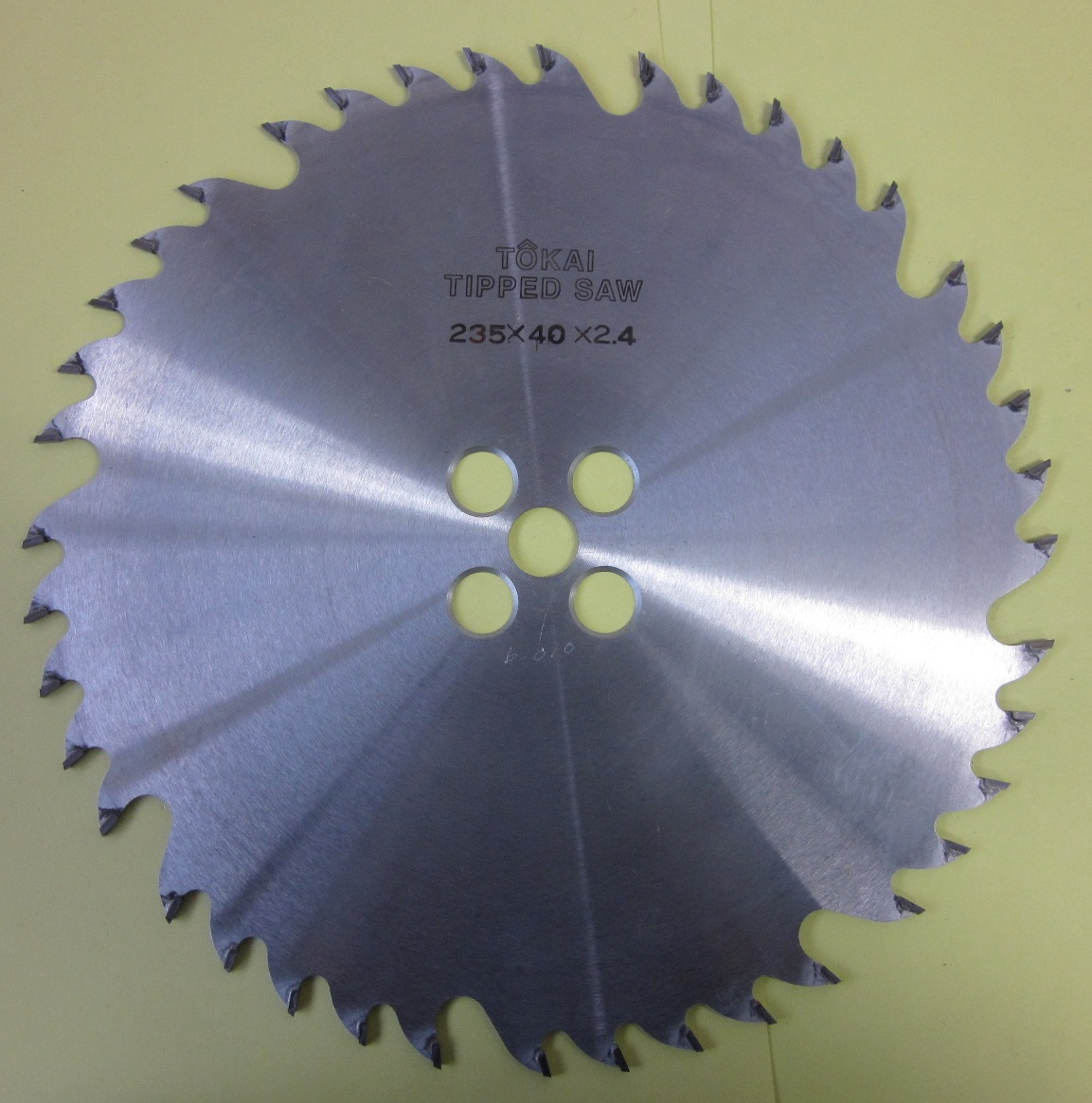 遠州丸鋸 木工用 ホゾ取りタテ235x40Px2.4mmx16mm マキタ用