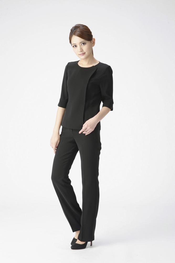 애도 포 멀 슈트 길이 길이 재킷 재킷, 블라우스, 팬츠 3 피스 정장 올 시즌 여성 S/M/L m624