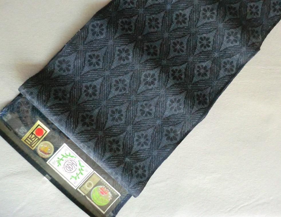 きもの宮古上布国指定重要無形文化財着尺 手織り