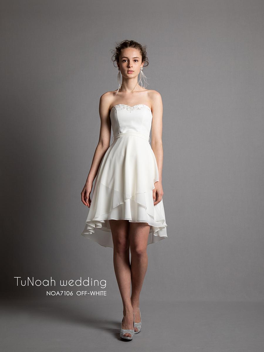 NOA7106_offwhite オフホワイト ウェディング ウェディグドレス ウエディング ウエディングドレス オーダードレス サイズオーダー 挙式 二次会 結婚式 ブライダル ドレス 海外 国内