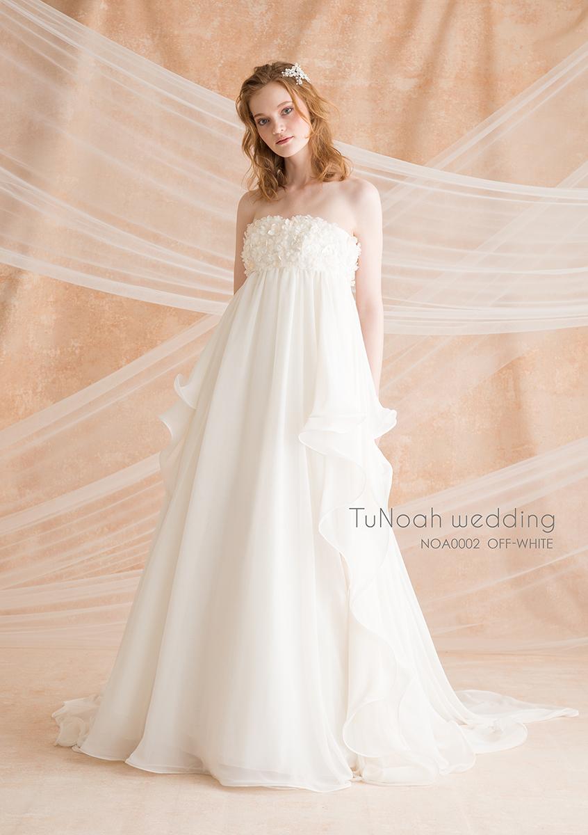 NOA0002_offwhite オフホワイト ウェディング ウェディグドレス ウエディング ウエディングドレス オーダードレス サイズオーダー 挙式 二次会 結婚式 ブライダル ドレス 海外 国内