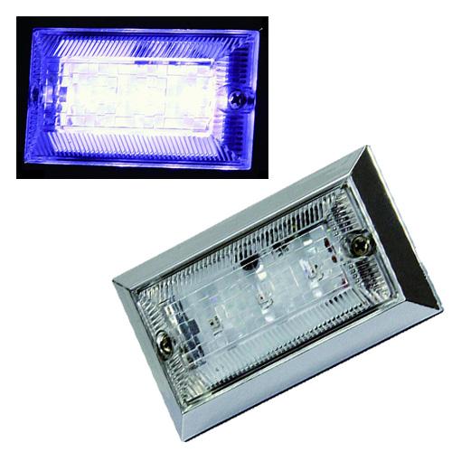 LEDならではの省エネ設計 超高輝度LEDを3個搭載☆ LED3ハイパワーフラットマーカーランプNEO DC24V 情熱セール ホワイト 全商品オープニング価格 クリア