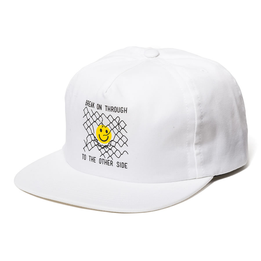 THE QUIET LIFE ザクワイエットライフ / 6パネル スナップバックキャップ / OTHERSIDE RELAXED SNAPBACK -WHITE THE QUIET LIFEのキャップ 【t74】