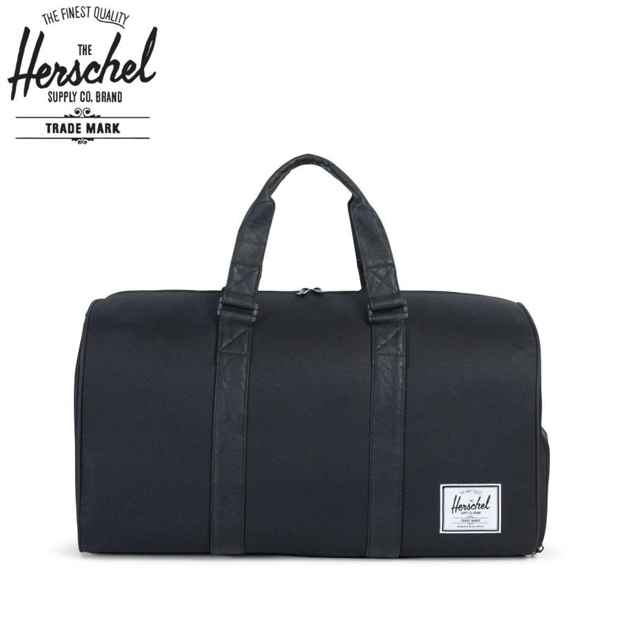Herschel Supply ハーシェルサプライ ダッフルバッグ / NOVEL ノベル - BLACK x BLACK / 42.5L / 送料無料 メンズ レディース ユニセックス 大容量 ブラック 黒 ハーシェルのダッフルバッグ 【t21】