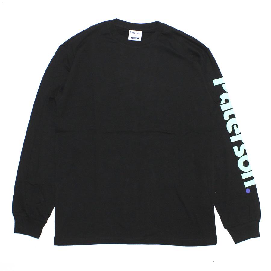 PATERSON(パターソン)/ ロンT 長袖 Tシャツ / ADVANTAGE LS TEE - BLACK / PATERSON LOGO / PAT-SS19-LS02 / メンズ 【t79】