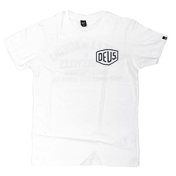 [正規品 無料ラッピング可] DEUS EX MACHINA ( デウスエクスマキナ ) / Tシャツ 半袖 / TOKYO ADDRESS TEE - WHITE / DMW41808R デウス エクス マキナ DEUSのTシャツ 【t74】