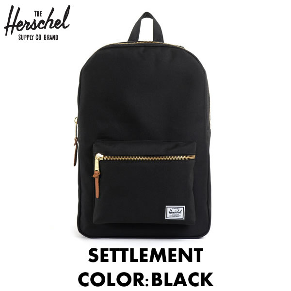 Herschel Supply Herschel supply backpack   SETTLEMENT settlement   BLACK  Black Black   21 L   319230a546306