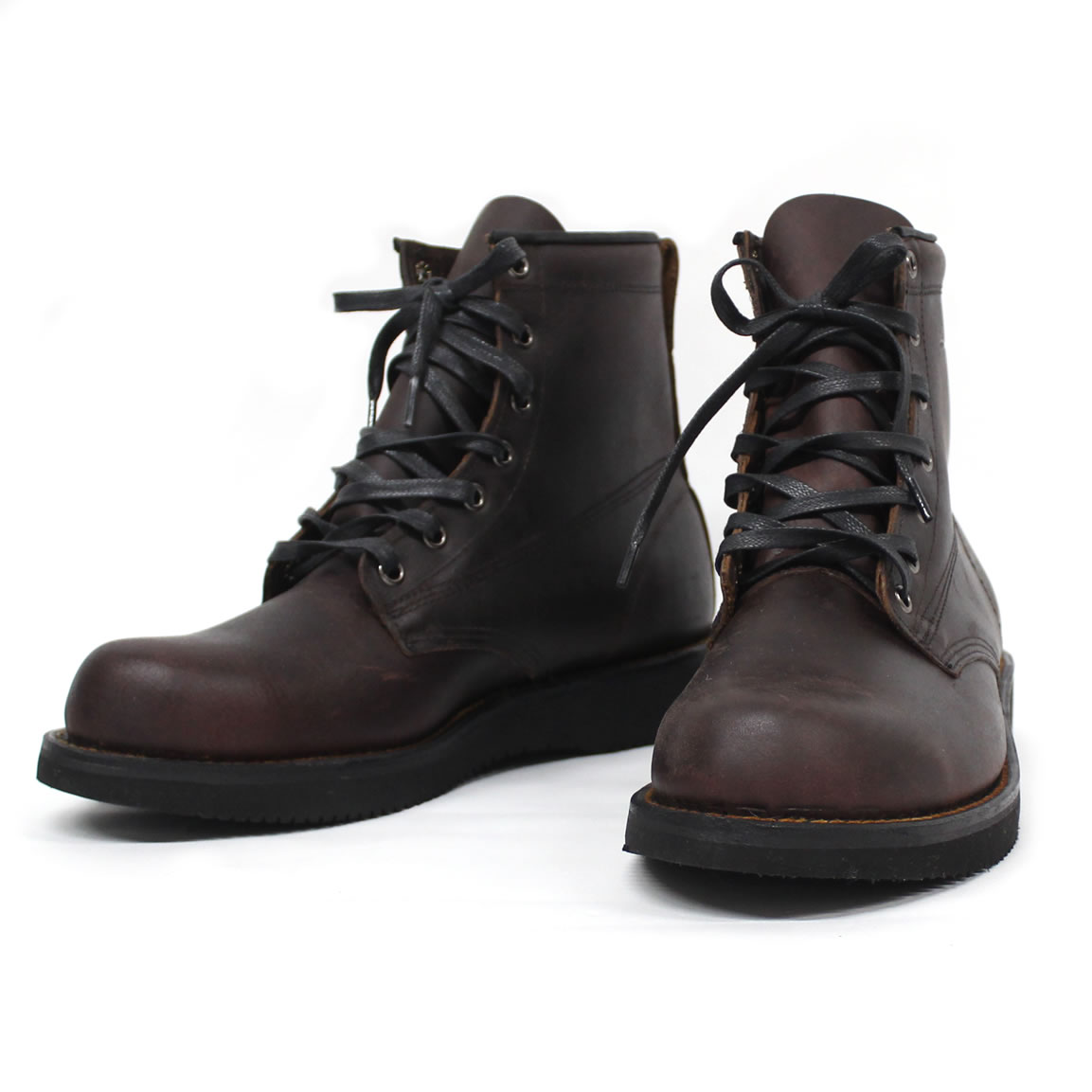 BROKEN HOMME ブロークンオム / レザーブーツ ワークブーツ / JAMES BOOT - OXBLOOD / MADE IN USA 【t79】