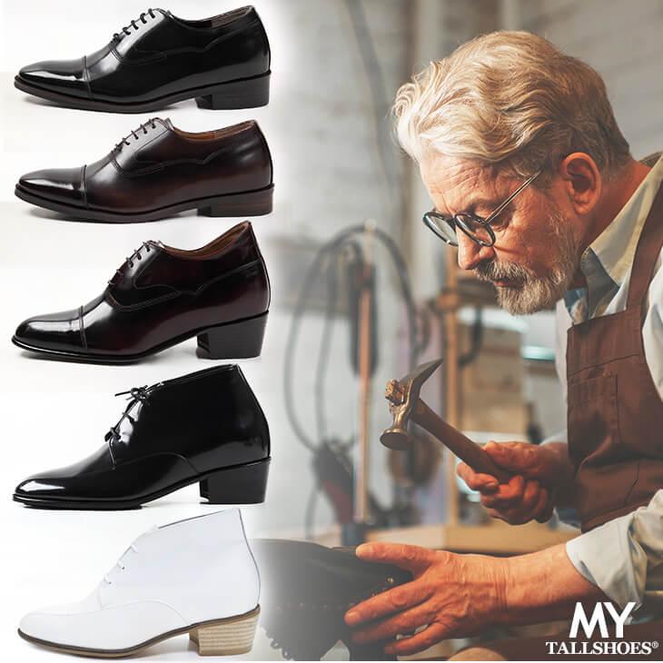 トールシューズ 背が高くなる靴 オーダーメイド シューズ メンズ セミオーダー ビスポーク 【商品番号:oms】