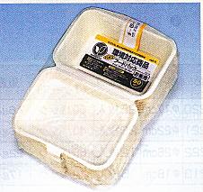 【送料無料】【メーカー直送】[業務用]紙製 フードパック NFD-180 800枚入(16個)非木材系の天然パルプの使い捨て容器(さとうきびのエコ容器)。電子レンジ対応。激安の容器(食品用のうつわや入れ物や包材)バーベキューやパーティーや学園祭/お祭に。