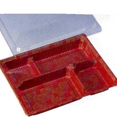 [送料無料/業務用] 1段 プラスチックの使い捨て弁当容器HS-古今4 納言透明蓋付セット 400個入り弁当(お弁当)のテイクアウトにプラの弁当箱(お弁当箱/使い捨て弁当箱/弁当容器/弁当パック/お弁当パック/テイクアウト容器) 激安の使い捨て容器(入れ物)