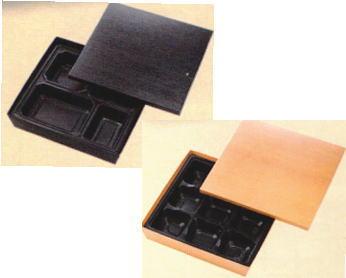 [送料無料/業務用] 1段 紙製 使い捨て弁当容器 紙ボックス80-80セット 100個弁当(お弁当)のテイクアウトに紙の弁当箱(お弁当箱/使い捨て弁当箱/弁当容器/弁当パック) [送料無料/業務用] 1段 紙製 使い捨て弁当容器紙ボックスHSH-80-80テーパー型貼箱 中仕切セット 100個弁当(お弁当)のテイクアウトに紙の弁当箱(お弁当箱/使い捨て弁当箱/おしゃれ/デリバリー/テイクアウト容器/シンプル/仕出し/ランチボックス/包材)【smtb-F】