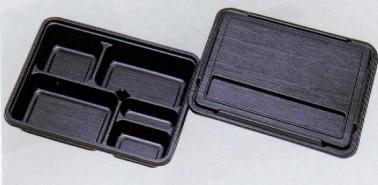 送料無料[業務用]1段 使い捨て弁当容器福助 KP-130 阿波共蓋 300セット弁当(お弁当)のテイクアウトにプラスチックの弁当箱(お弁当箱)仕出しに使い切り弁当箱(弁当パック/お弁当パック)イベント 弁当容器使い捨て(入れ物/パック)