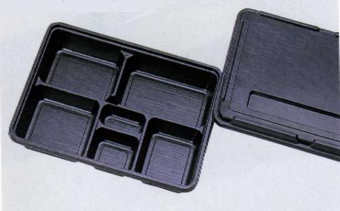 【送料無料】【業務用】1段 使い捨て弁当容器福助 KP-170 阿波共蓋 200セット弁当(お弁当)のテイクアウトにプラスチックの弁当箱(お弁当箱)仕出しに使い切り弁当箱(弁当パック/お弁当パック)しっかりしていてイベントにも最適です。使い捨て容器(入れ物/パック