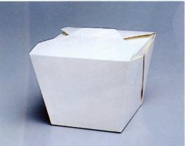 エコ コンテナー 丼タイプ 取手なしFN-L ホワイト 400枚【smtb-F】  【fsp2124-5k】