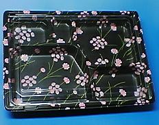 使い捨て弁当容器四季を感じる! KIP-3 秋桜 400枚cs 【smtb-F】 【fsp2124-5k】