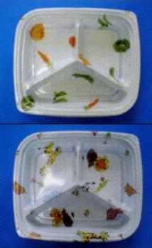 [送料無料/業務用]1段 プラスチックの使い捨て弁当容器グルメ LP-500-3(やさい・どうぶつ)透明蓋付セット 800個入り弁当(お弁当)のテイクアウトにプラの弁当箱(お弁当箱/使い捨て弁当箱/弁当容器/弁当パック/お弁当パック/テイクアウト容器) お子様用【smtb-F】