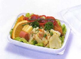 [業務用]送料無料プラスチックの使い捨て惣菜容器(総菜容器)CTデリカン18-13F白本体(四角)透明蓋付きセット1200個入りシンプルでおしゃれなおかず入れです。(お惣菜/おかず/デザート/フルーツ)に。電子レンジ対応(食品用/容器/器/うつわ/入れ物/包材)【smtb-F】