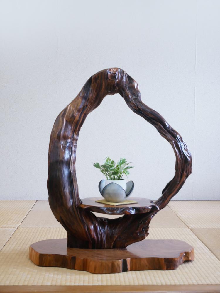 ~飾り台~仕様:無垢 / 素材:屋久杉