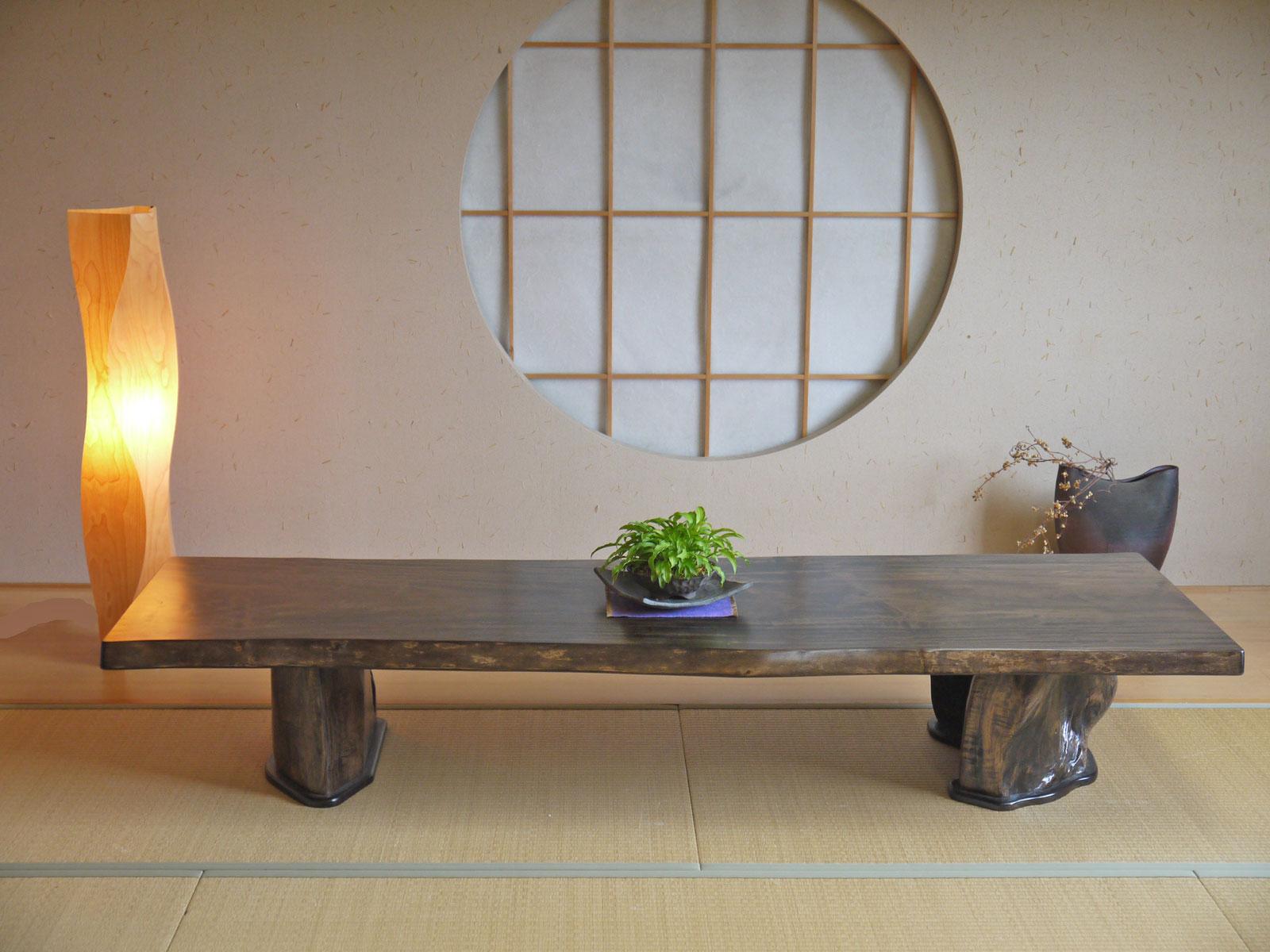 ~ローテーブル~仕様:無垢 / 素材:栃