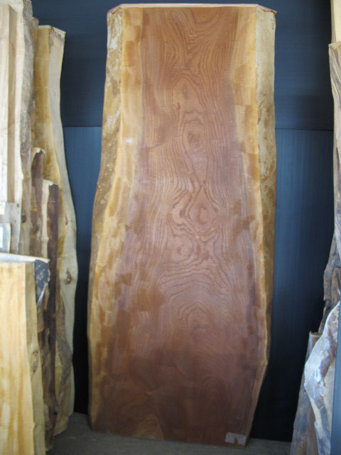 オーダーテーブル用、天然木の板材 ~一枚板~仕様:無垢 / 素材:けやき