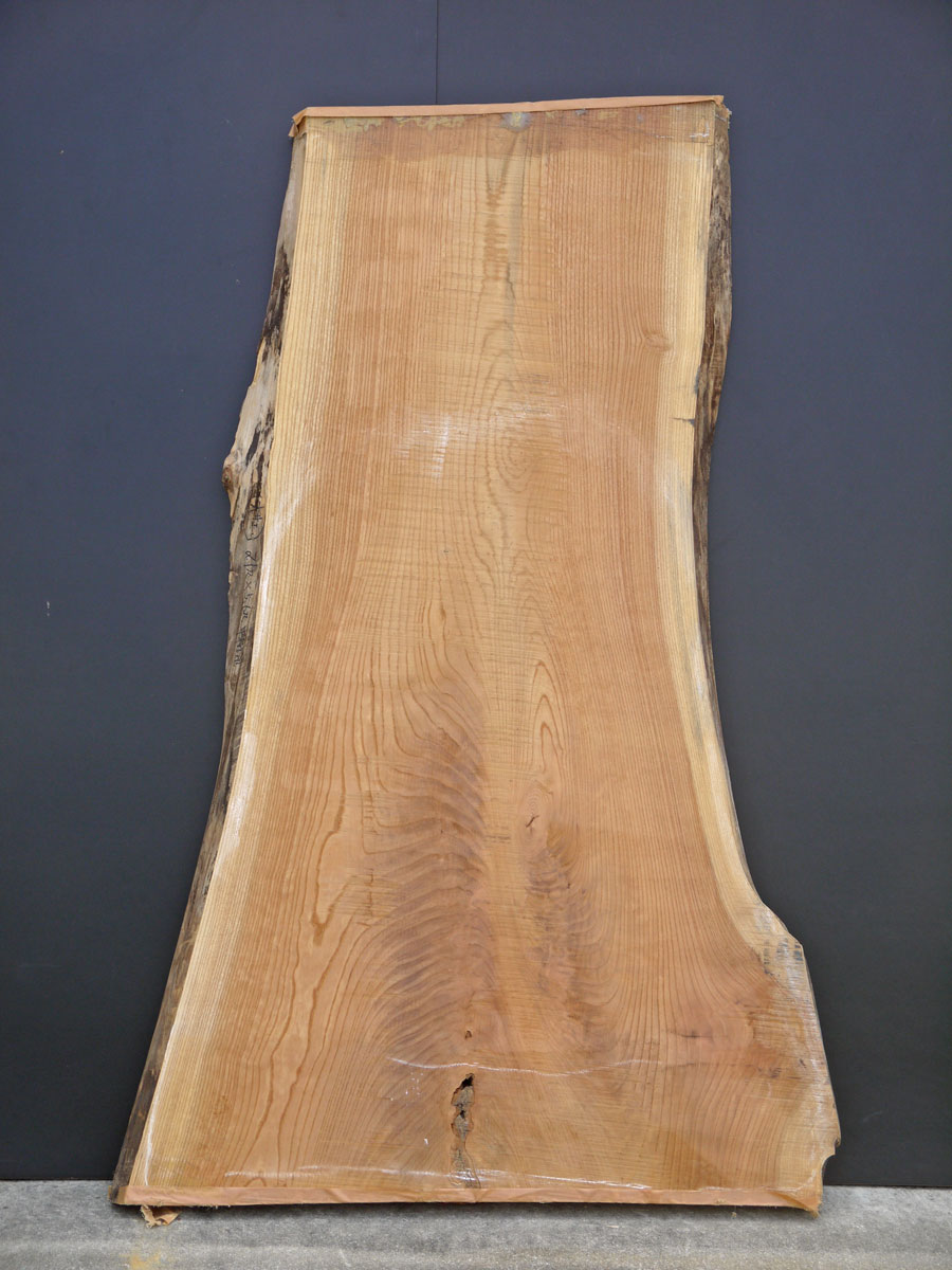 天然木の板仕様:無垢/材料:けやき(荒板/無垢板/無垢素材/無塗装/天然木)