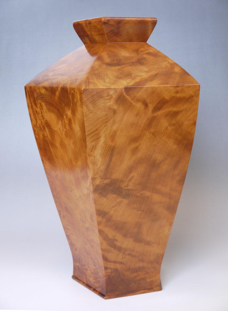 ~飾り壺~仕様:無垢 / 素材:屋久杉(虎瘤)