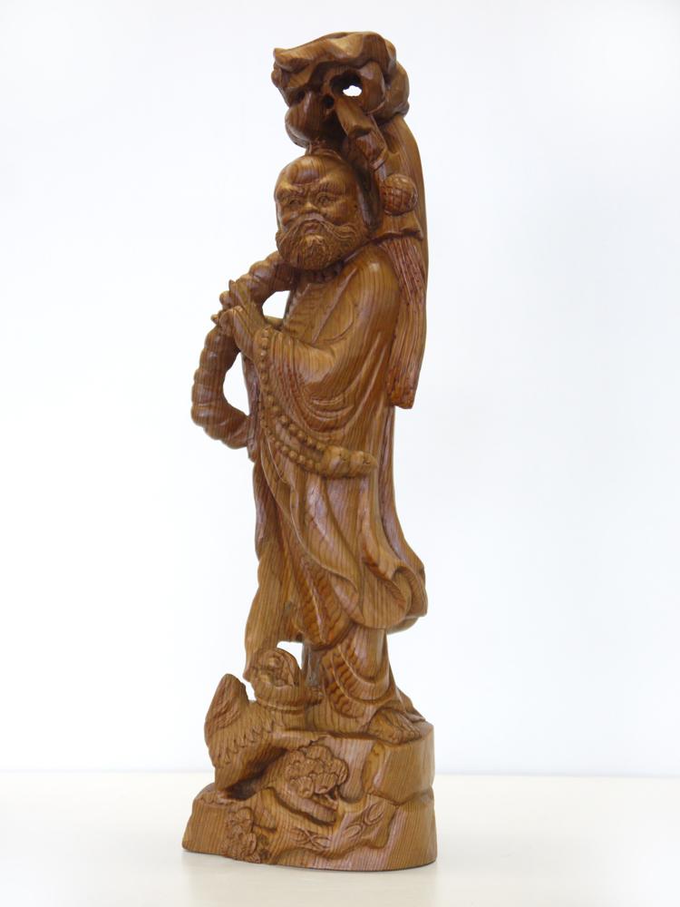 ~木彫り 仏像 達磨大師~一刀彫 / 素材:屋久杉