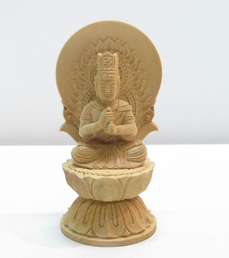 ~木彫り 仏像 大日如来~仕様:無垢 / 素材:柘植(置物)