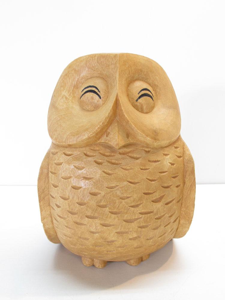 驚きの安さ ~木彫り ~木彫り/ ふくろう~一刀彫/ 素材:楠 素材:楠, 創作和洋菓子 花えちぜん:7bd899ac --- canoncity.azurewebsites.net