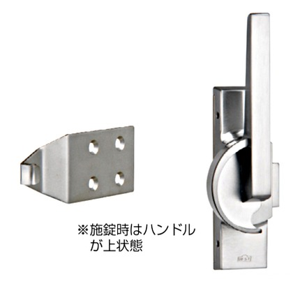 BEST クレセント 右 サテンクロム No.3491-1-1