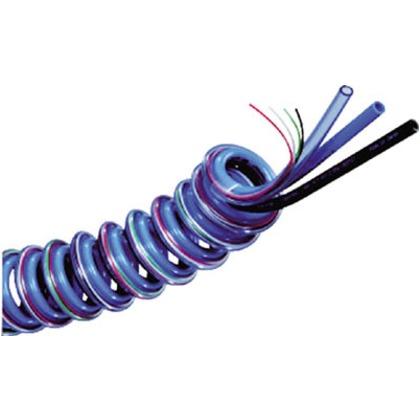 チヨダ 電線入りスリットスパイラル8mm/使用範囲1480mm 3-SSE-8-20