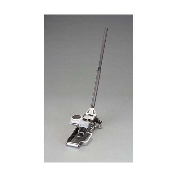 エスコ(esco) 1.5ton/ 90-356mm トロリージャッキ(低床) EA993LD-21 1個