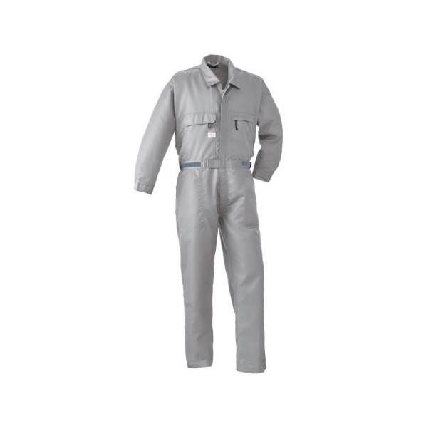 エスコ(esco) [LL] 空調継ぎ作業服(本体のみ/長袖グレー) EA996AM-33 1個