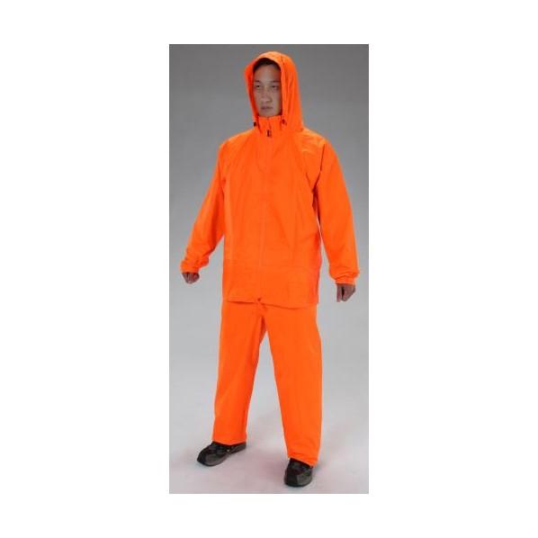 エスコ(esco) [2XL] レインウェアー(蛍光オレンジ) EA996WB-4 1個