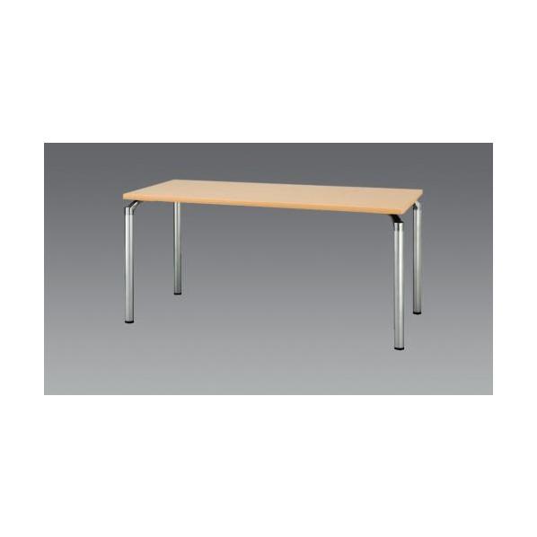 エスコ(esco) 1500x 900x700mm ミーティングテーブル(ナチュラル) EA954HC-613 1個