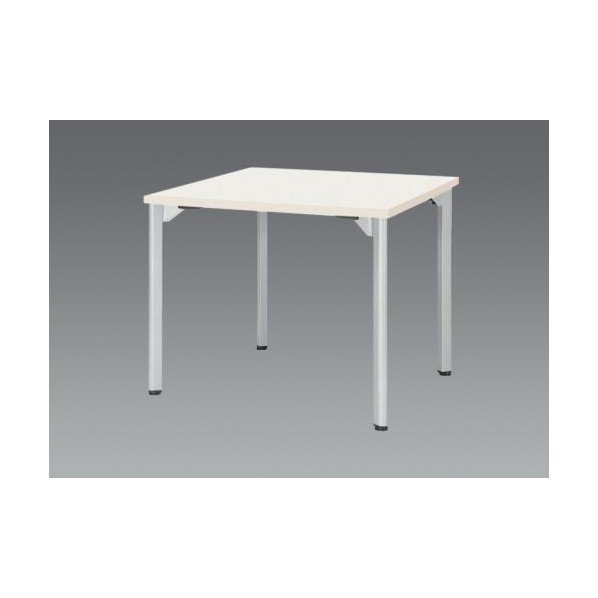 エスコ(esco) 1200x1200x720mm ミーティングテーブル(ホワイト) EA954HC-633 1個