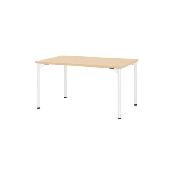 エスコ(esco) 1500x 750x720mm ミーティングテーブル(ナチュラル) EA954HC-643 1個