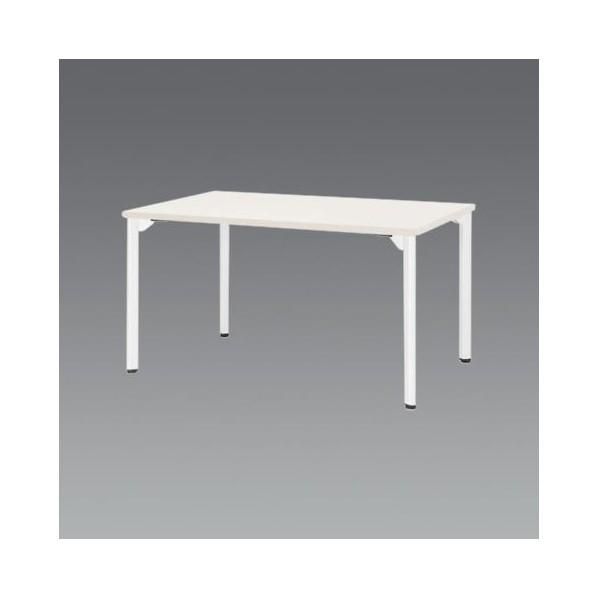 エスコ(esco) 1500x 750x720mm ミーティングテーブル(ホワイト) EA954HC-653 1個