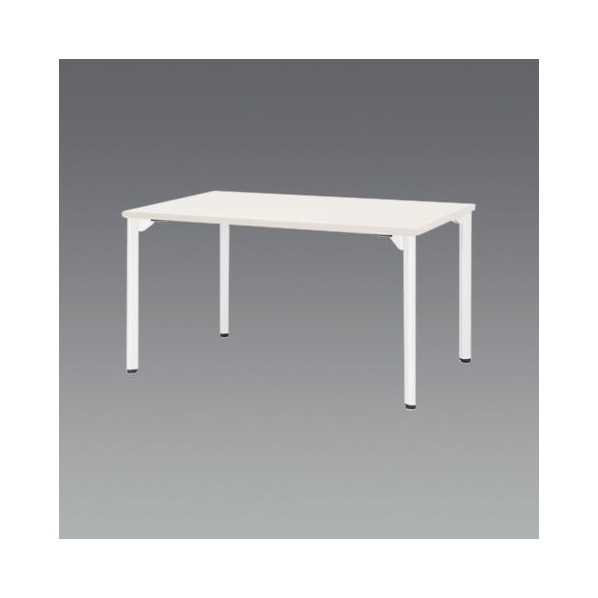 エスコ(esco) 1500x 900x720mm ミーティングテーブル(ホワイト) EA954HC-654 1個