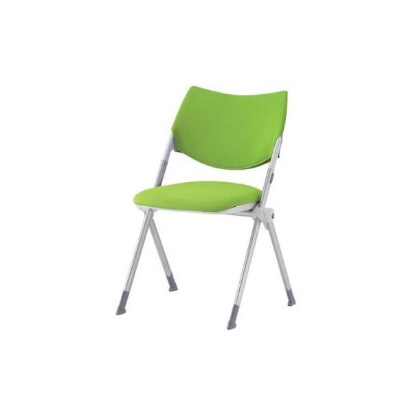 エスコ(esco) 折畳み椅子(グリーン) EA956XE-41 1個