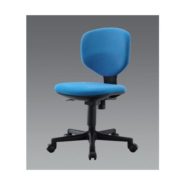 エスコ(esco) ビジネスチェアー(ブルー) EA956XA-253 1個