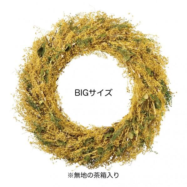 K・E・I ナチュラルBIGリース 600×100×600mm 4510 1個