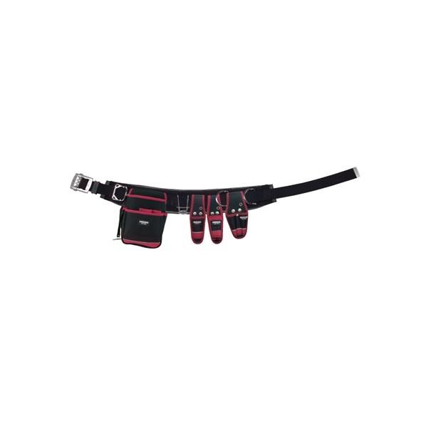 デンサン 腰道具セット(WSBシリーズ) WSB-R96-2BK 1個