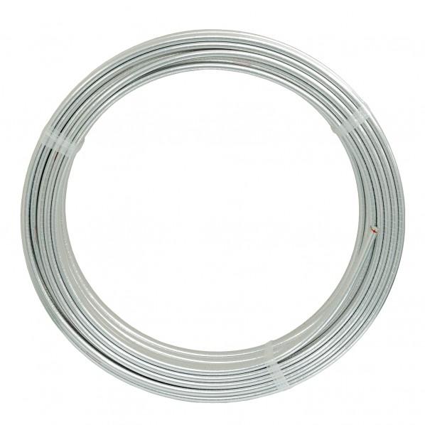 リビラック 追焚・暖房用アルミ巻耐熱ポリエチレン管( ペア) PE1050AW 1個